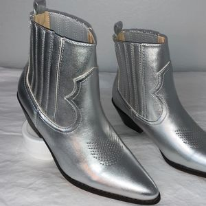Cowboy western Ankle Boots